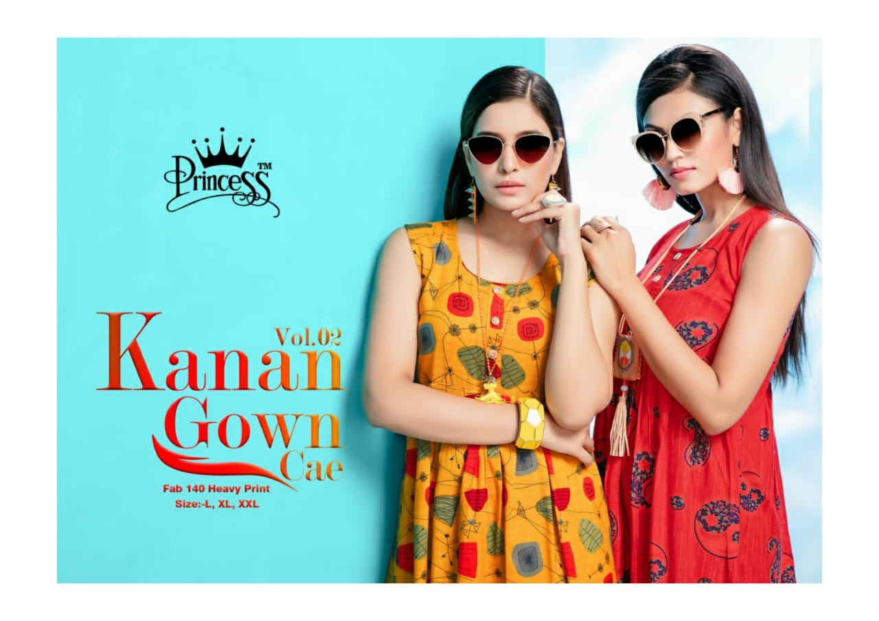 Princess Kanan Vol 2 Designer Rayon Print Kurtis Wholesale