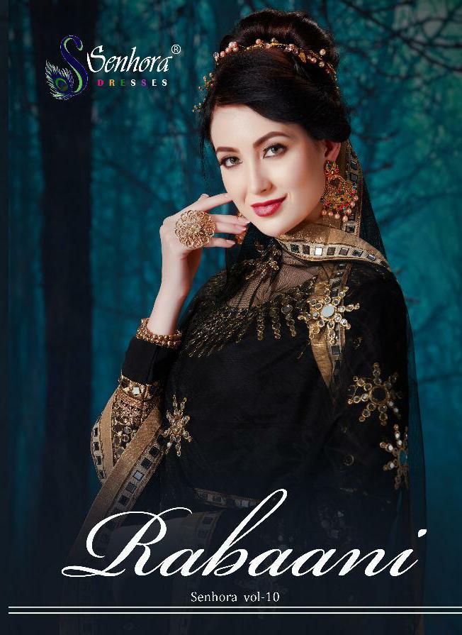 Senhora Rabbani Designer Partywear & Wedding Wear Suits Wholesale