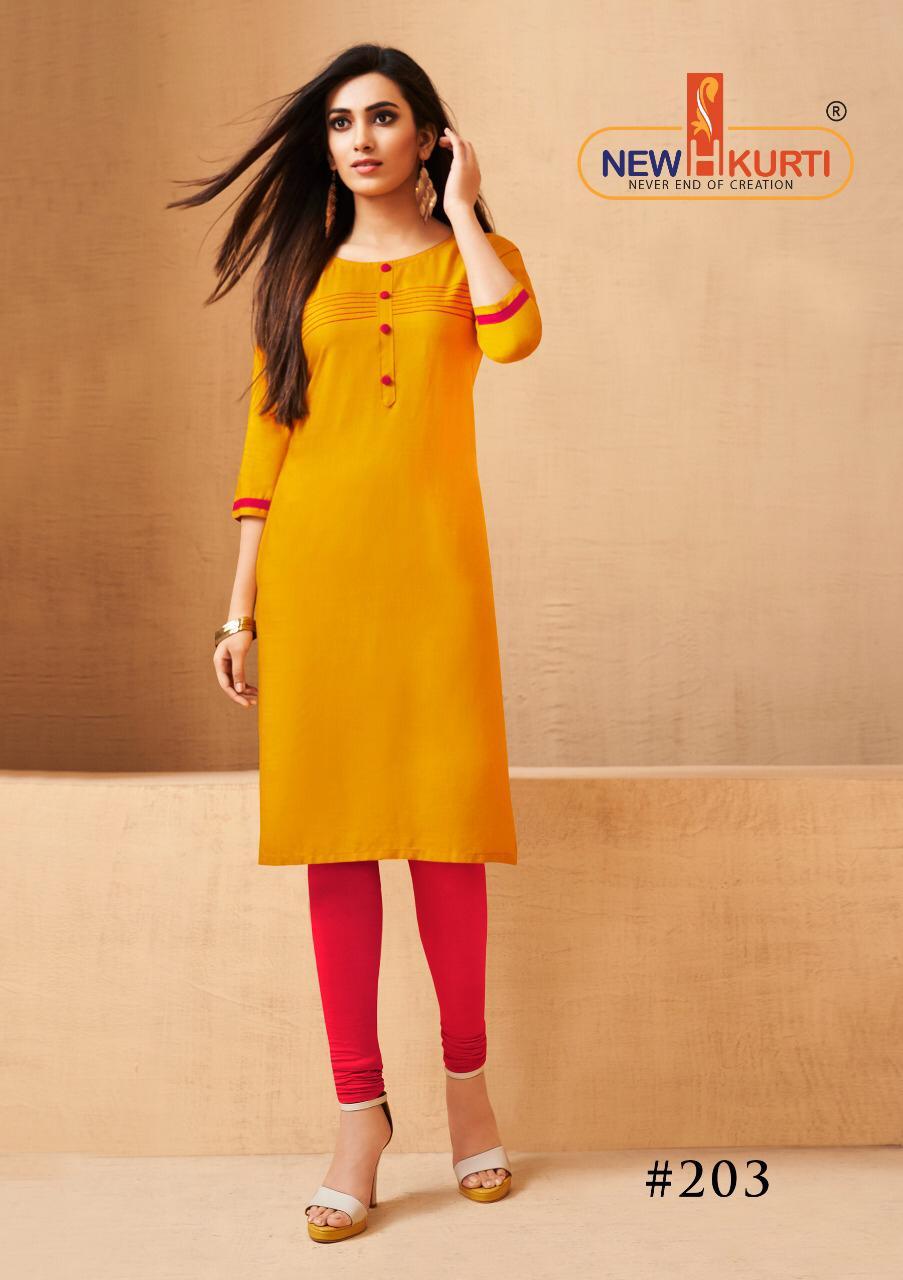 Tunic Fashion Neera Designer Office Wear & Daily Wear Kurtis Wholesale