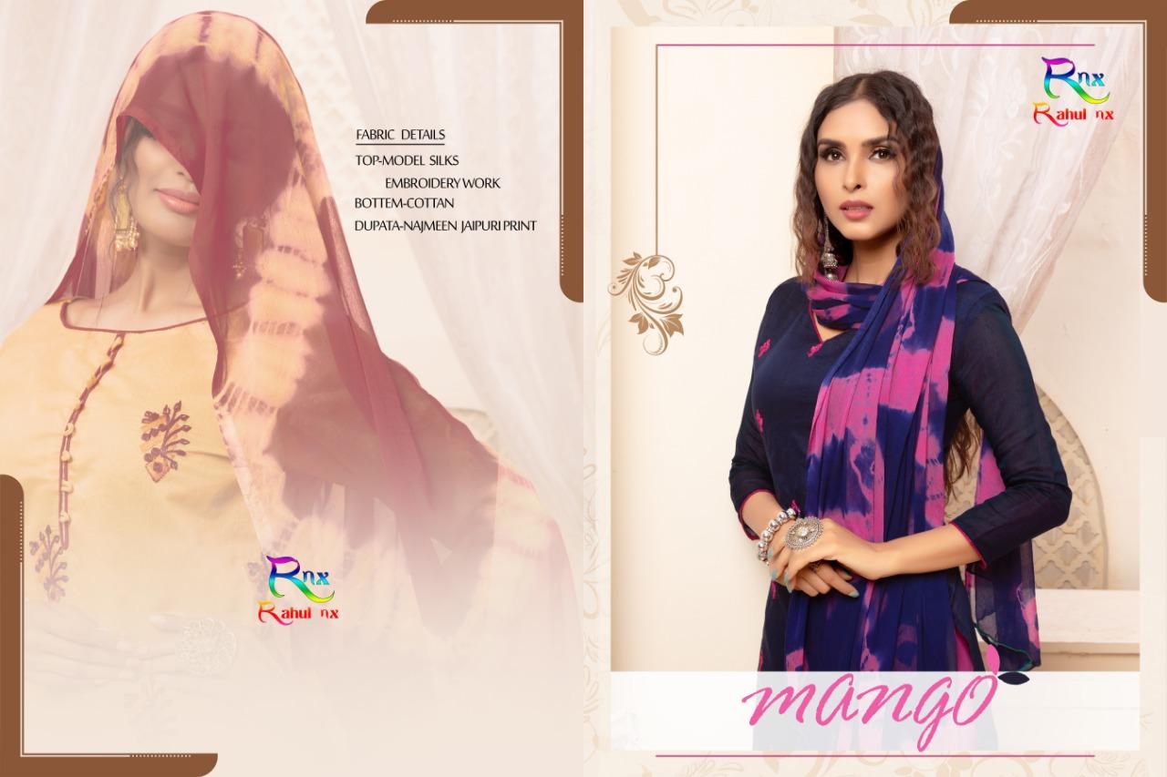 Rahul Nx Mango Designer Daily Wear Suits Wholesale Surat