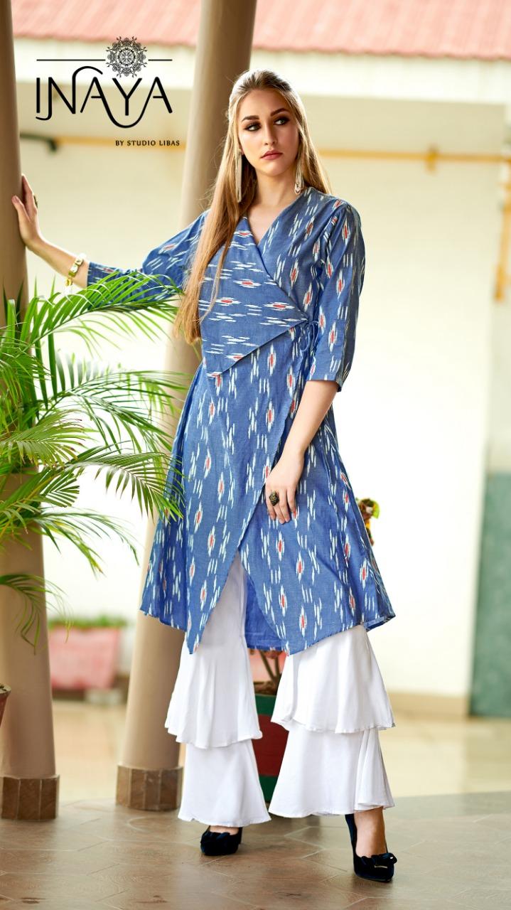 Inaya Lpc 27 Designer Wrap Round Kurti Best Wholesale Rate