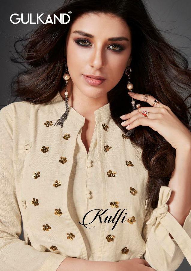 Gulkand Kulfi Designer Western Party Wear Kurties Wholesale