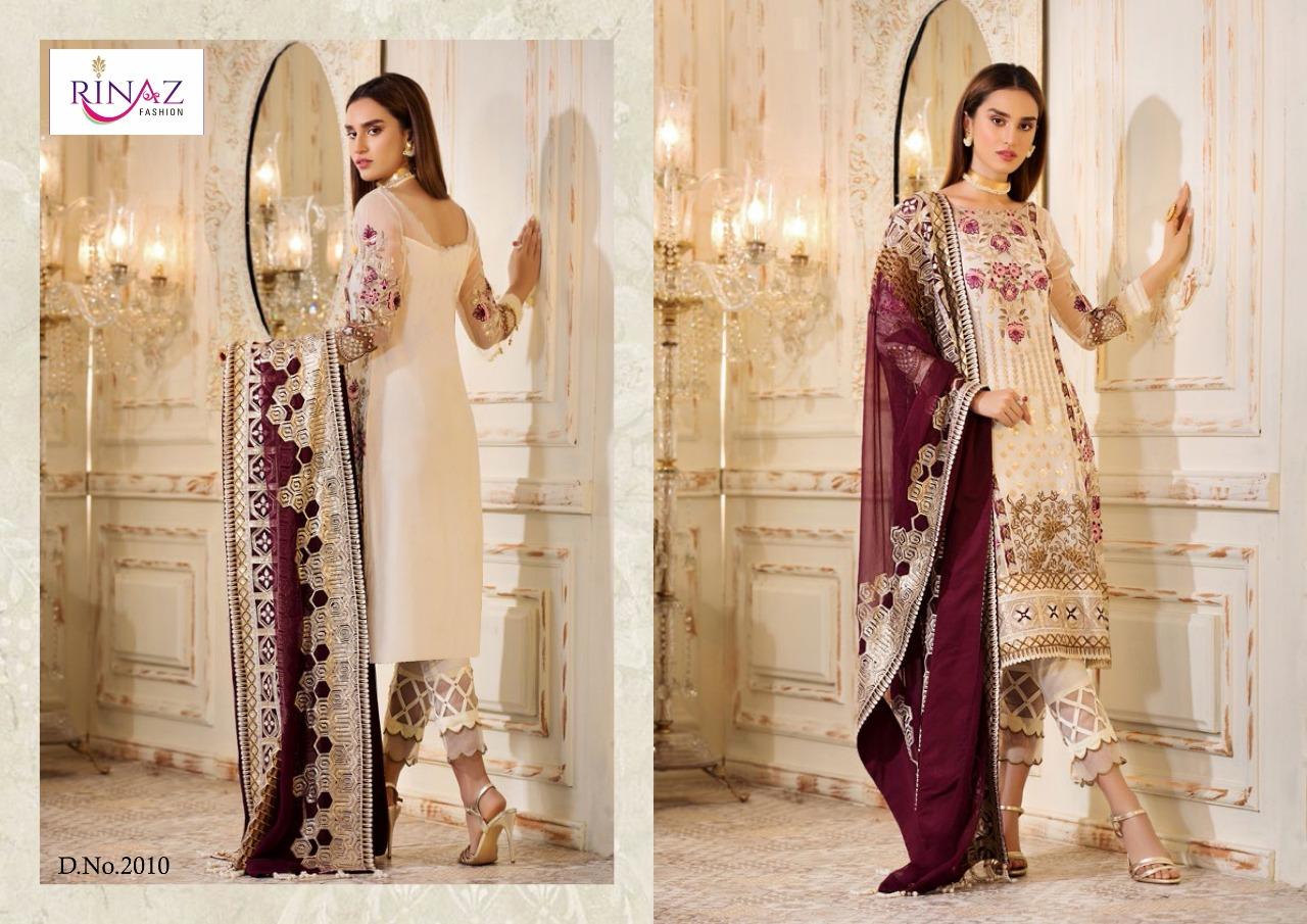 Rinaz Fashion Elmas Designer Faux Georgette Suit Wholesale
