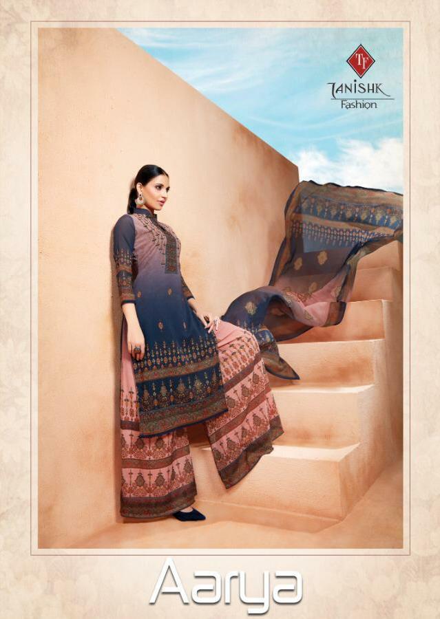 Tanishk Fashion Aarya Designer Georgette Print Suit Best Wholesale