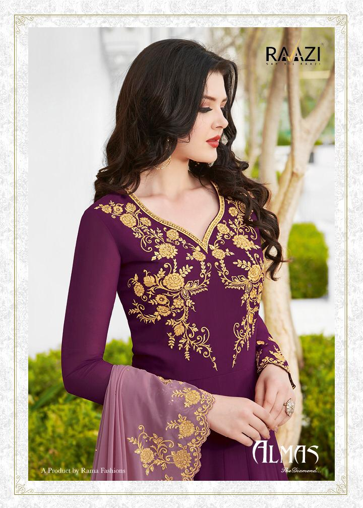 Rama Razi Almas Designer Wedding Wear Suits Wholesale