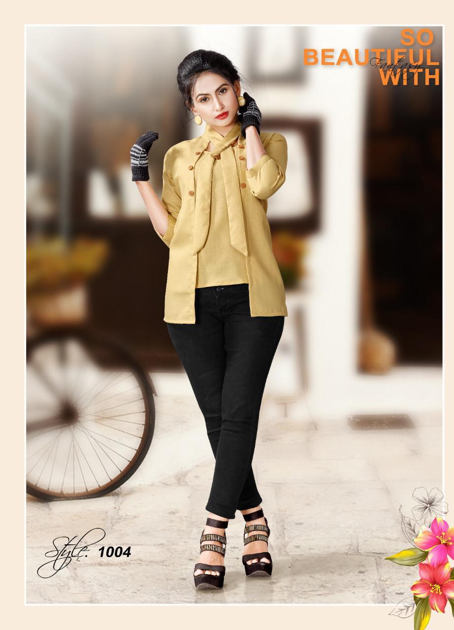 Kayra Life Style Western  Top Designer Stylist Tops Wholesale
