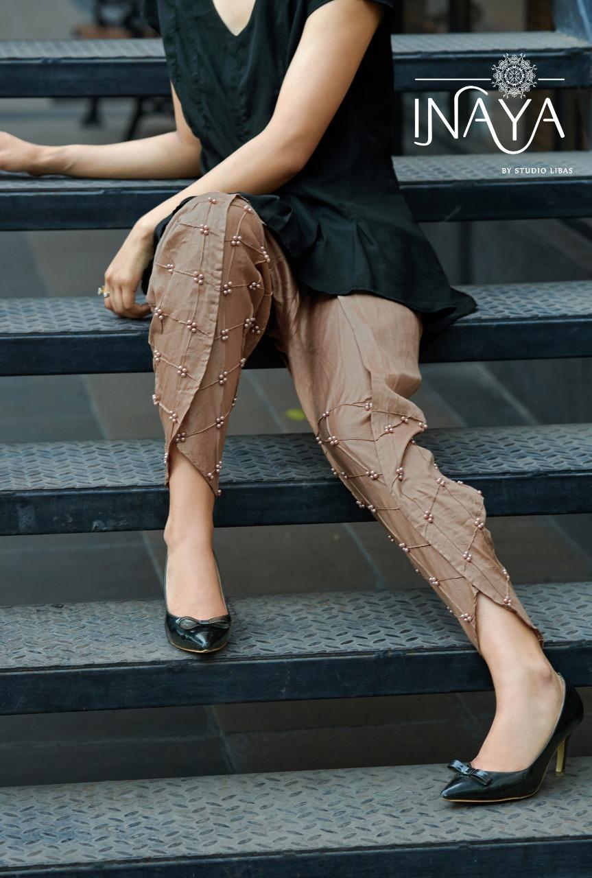 Inaya Tulip Pants Designer Cotton Stitch Tulip Pants Best Wholesale Rate