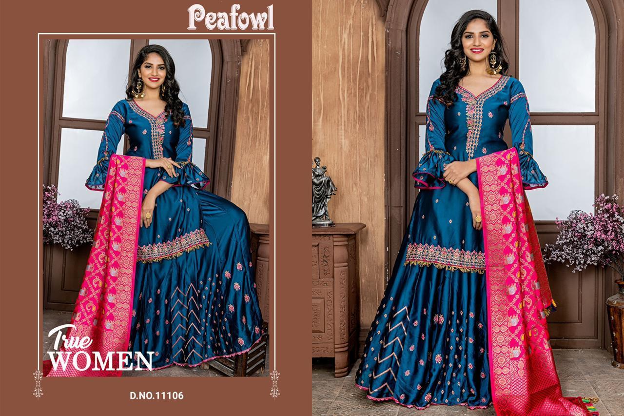 Peafowl Vol 33 Designer Wedding Wear Sharara Wholesale