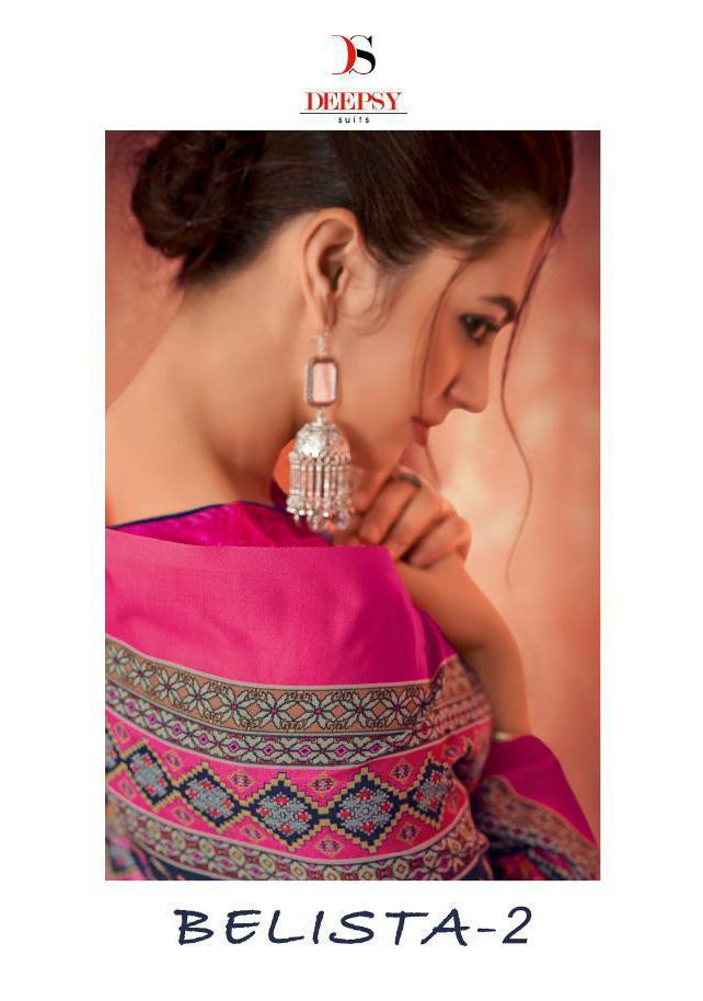 Deepsy Suits Belista 2 Designer Cotton Printed Suits Wholesale