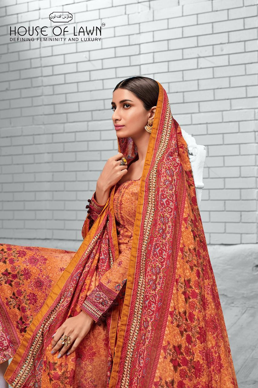 House Of Lawn Naayaab Designer Karachi Style Suits Wholesale