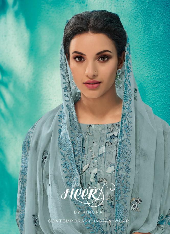 Kimora Heer 50 Designer Embroidery Suits In Best Wholesale Rate