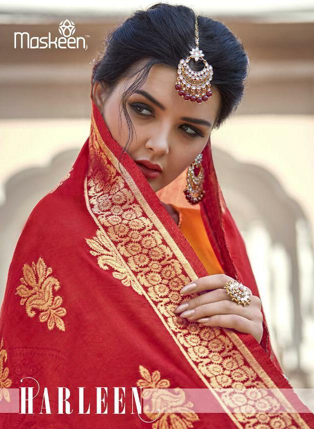 Maisha Maskeen Harleen Designer Wedding Wear Suits Wholesale