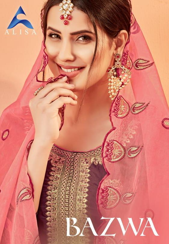 Alisa Bazwa Designer Wedding Wear Suits In Best Wholesale Rate