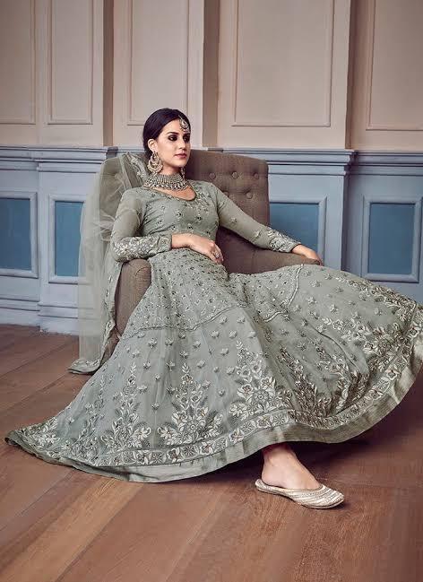 Sajawat Creation Begum Vol 1 Designer Faux Georgette Wedding Wear Suits Wholesale