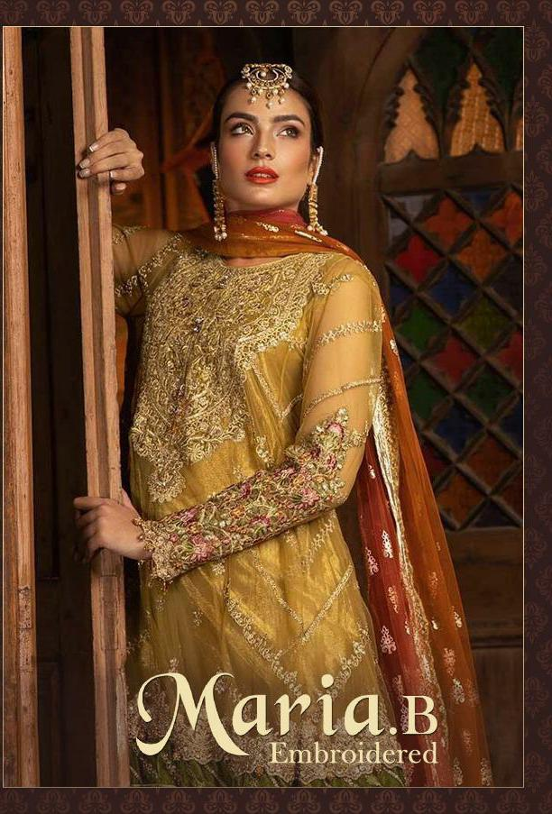 Deepsy Maria B 021 Series Designer Party Wear Suits In Best Wholesale Rate