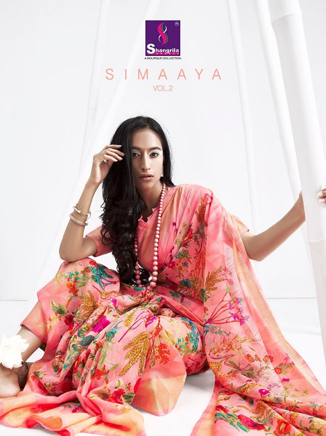 Shangrila Simaaya 2 Designer Cotton Handloom Art Sarees Wholesale