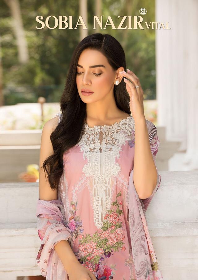 Shraddha Designer Sobia Nazir Vital Designer Heavy Suits Wholesale