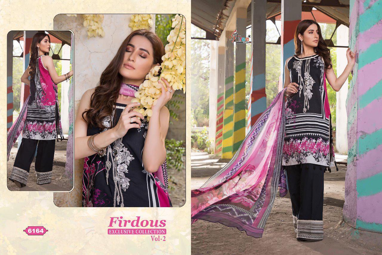 Shree Fab Firdous Exclusive Collection Vol 2 Designer Pakistani Pettern Suits Wholesale