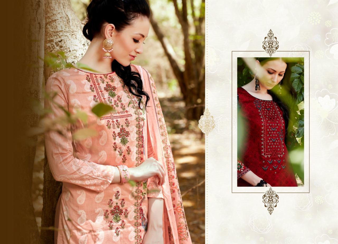 Hot Line Hot Lady Vol 9 Designer Cotton Suits Best Wholesale Rate
