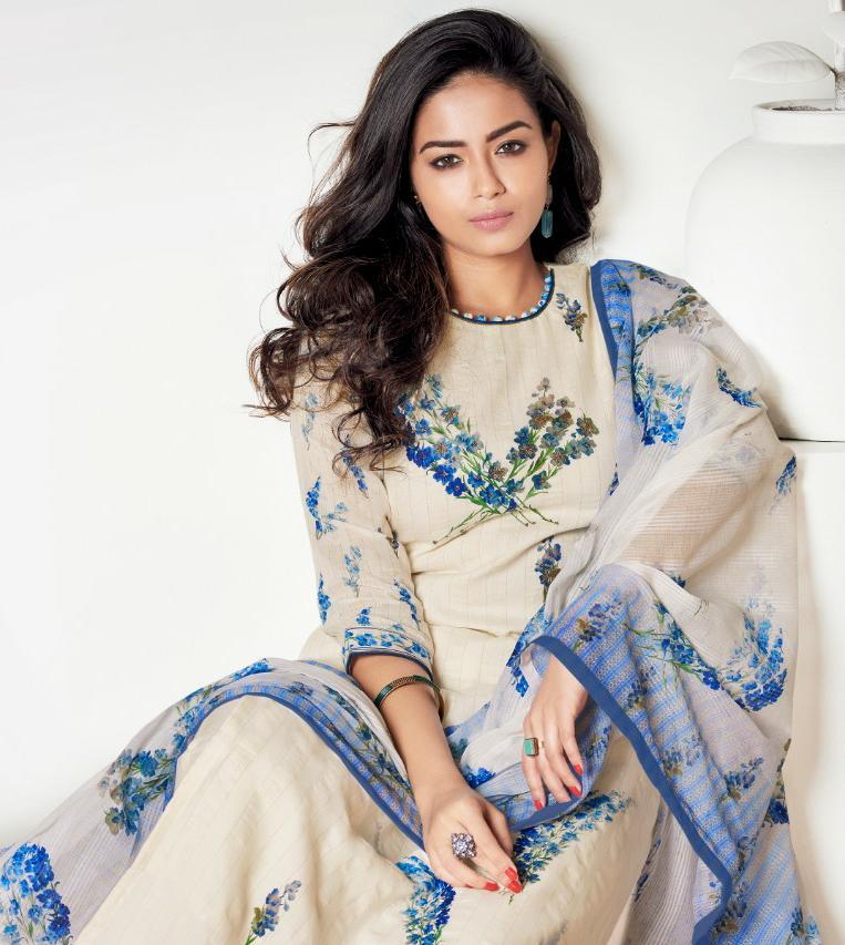 Jay Vijay Elvera Designer Digital Printed With Handwork Suits Wholesale
