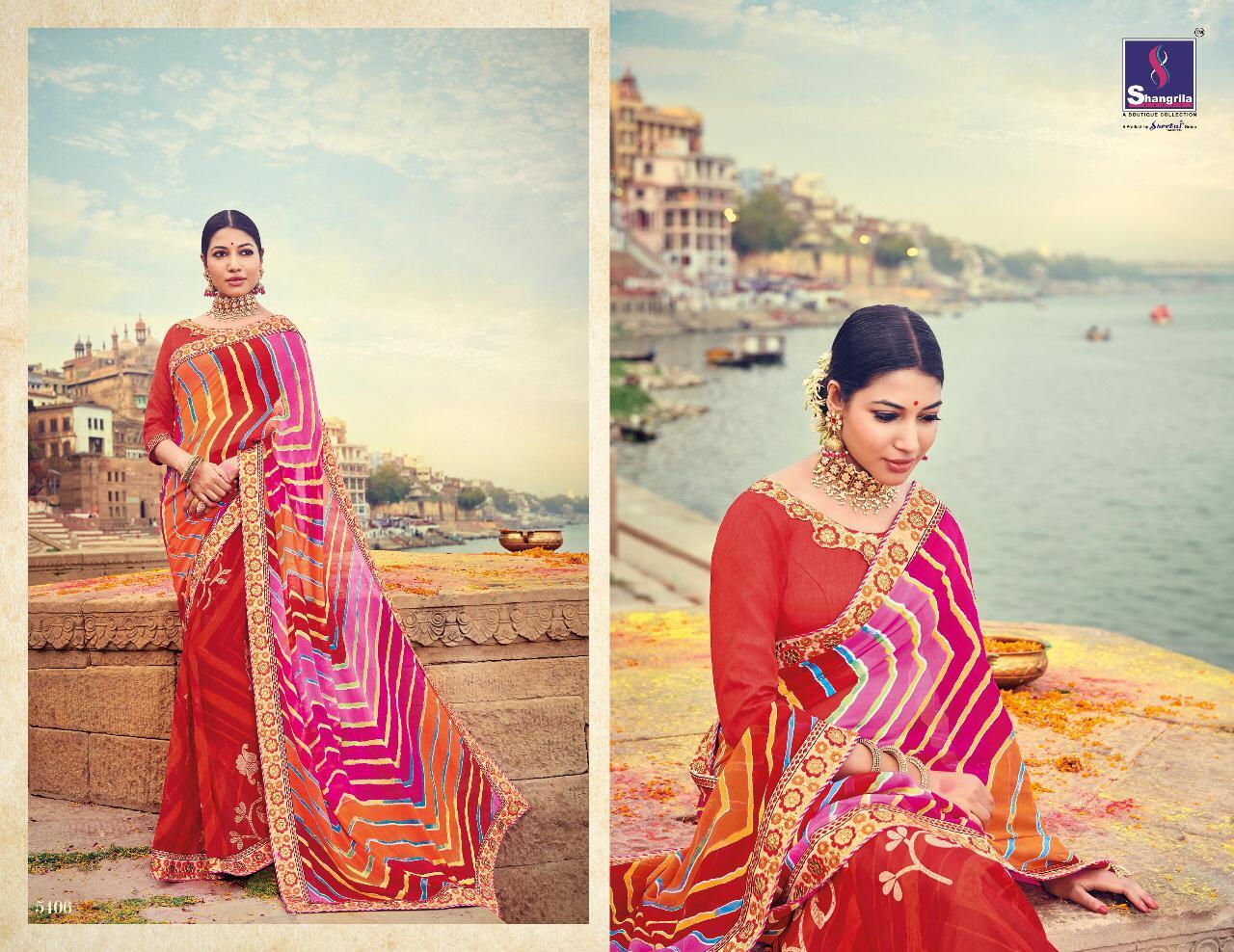 Shangrila Lehariyaa Sarees Designer Sarees & Royal Collection With Wholesale Price