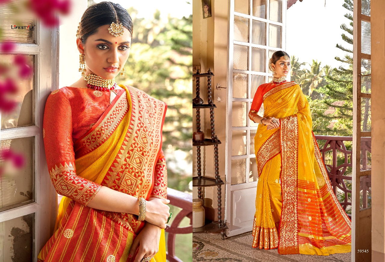 Lifestyle Kavita Vol 3 Designer Saree Best Collection & Heavy Embrodery Saree With Lowest Price