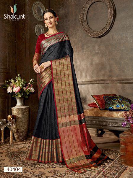 Shakunt Anshula Designer Saree Wedding Wear Sarees Beautiful Collection With Wholesale Rate