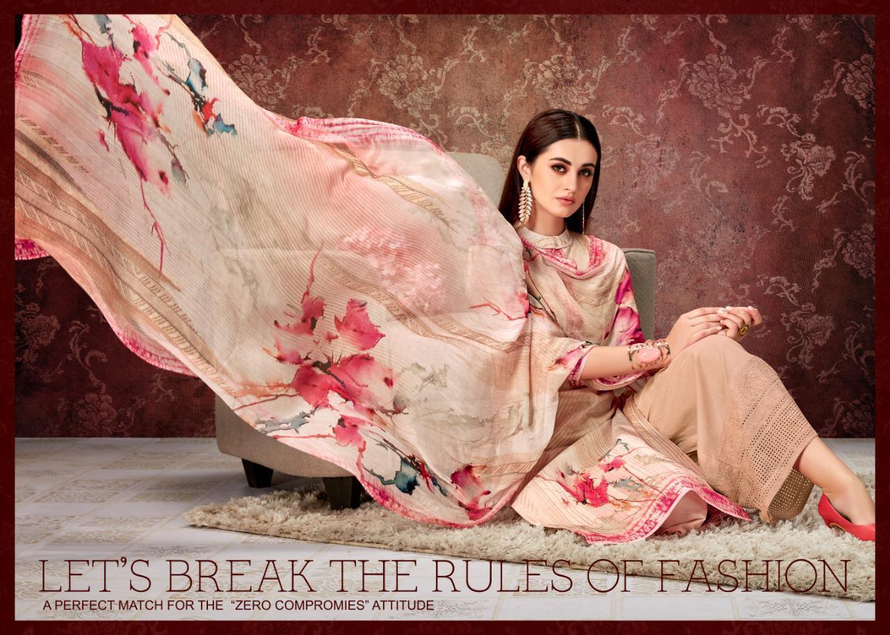 Kala Tisha 2 Designer Lawn Cotton Print  & Embroidered Suits Wholesale