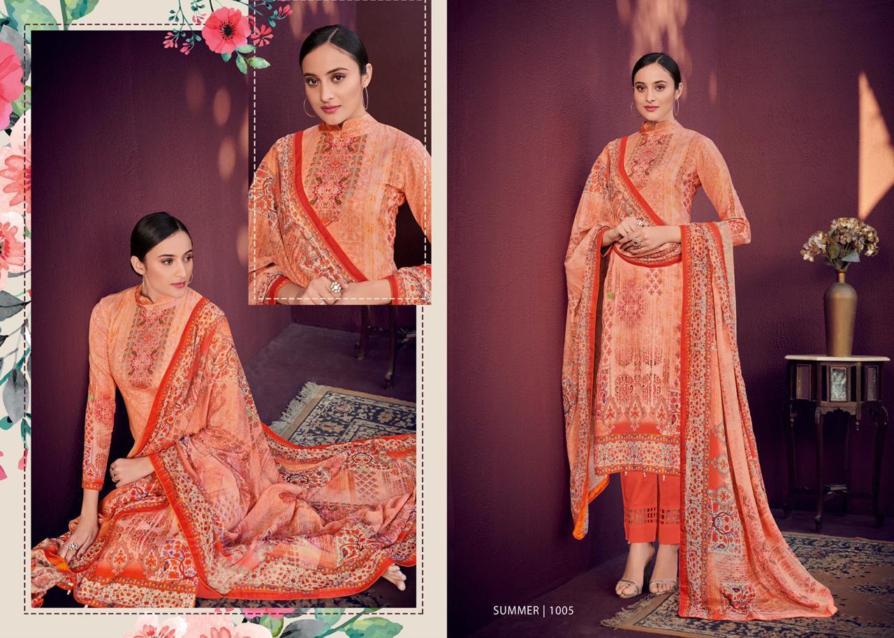 Mumtaz Arts Summer Karachi Lawn Digital Print Designer Karachi Suits Wholesale
