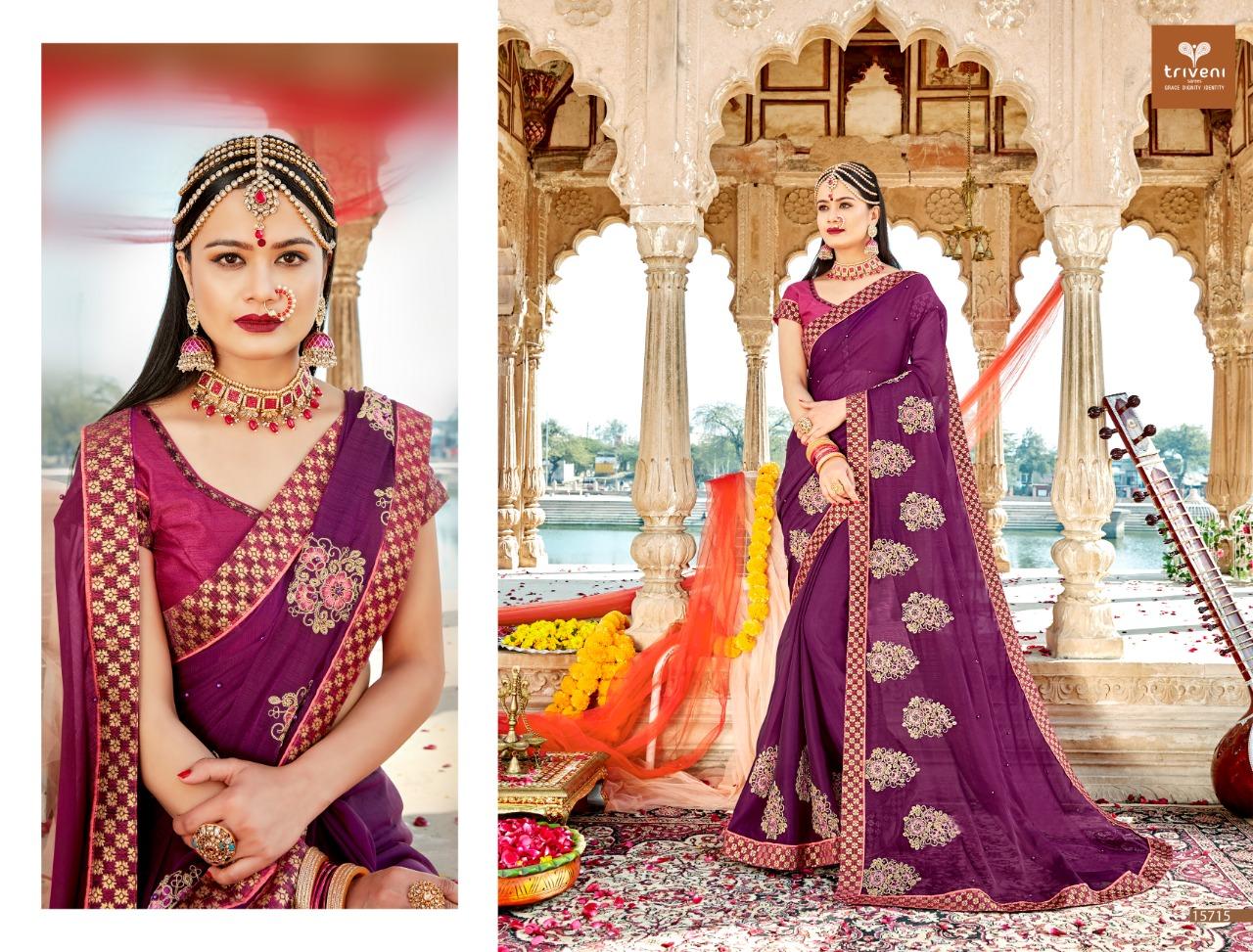 Triveni Pulkita 2 Designer Sarees In Wholesale Rate