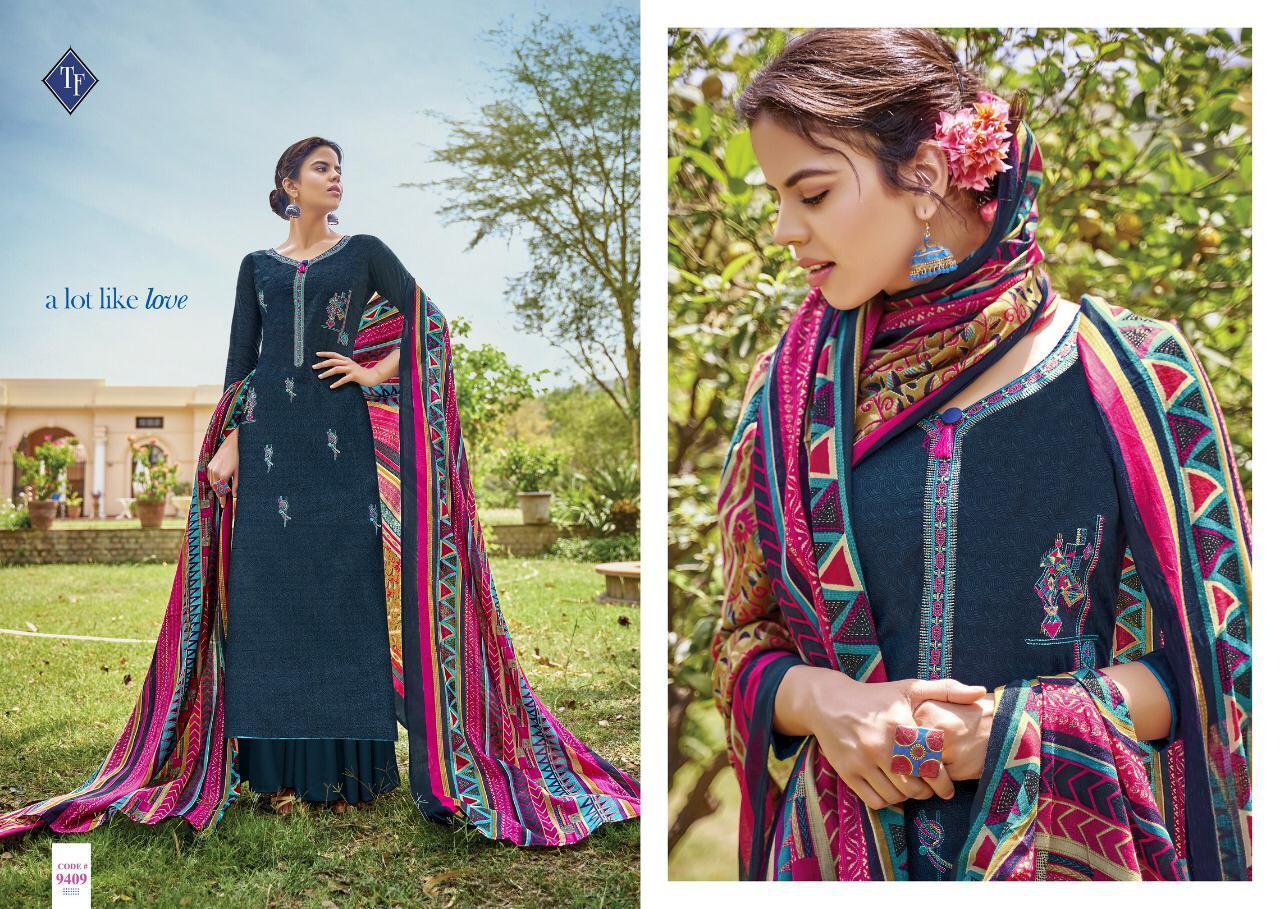 Tanishk Fashion Mahiyaa Vol 2 Designer Cotton Suits Wholesale