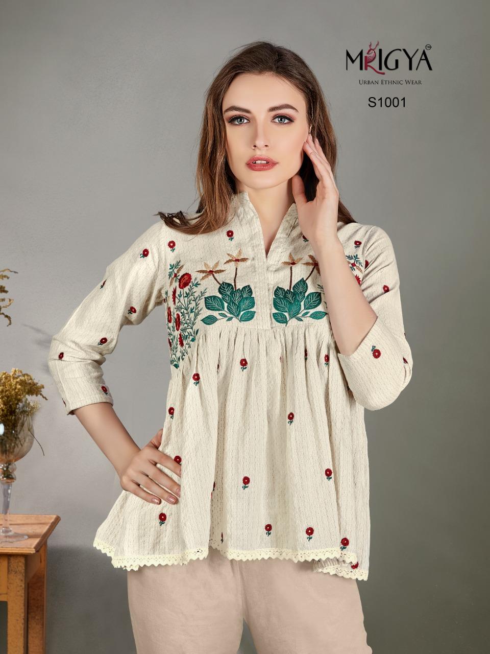 Mrigya Designer Party Wear & Western Kurties In Wholesale Rate Surat