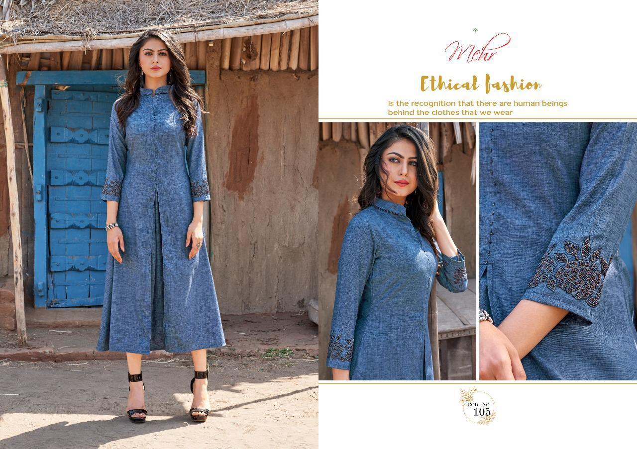 Mugdha Mehr Vol 2 Designer Western & Stylist Kurties Wholesale