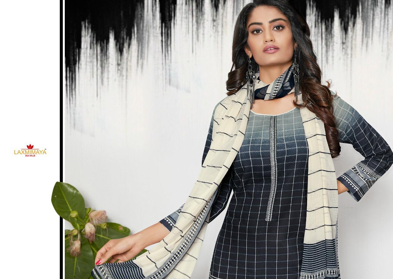 Laxmimaya Harveen Pure Cotton Digital Printed Embroidered Wholsale