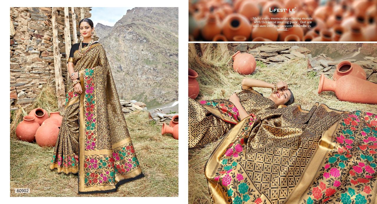 Lifestyle Shivalika Designer Wedding Wear Sarees Wholesale