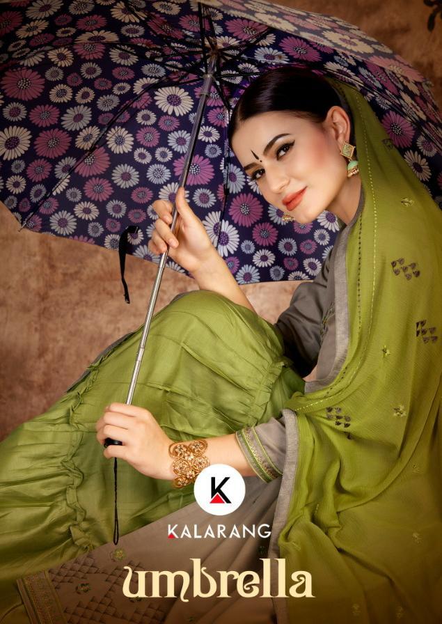Kalarang Umbrella Designer Jam Silk Cotton Suits Best Wholesale Rate