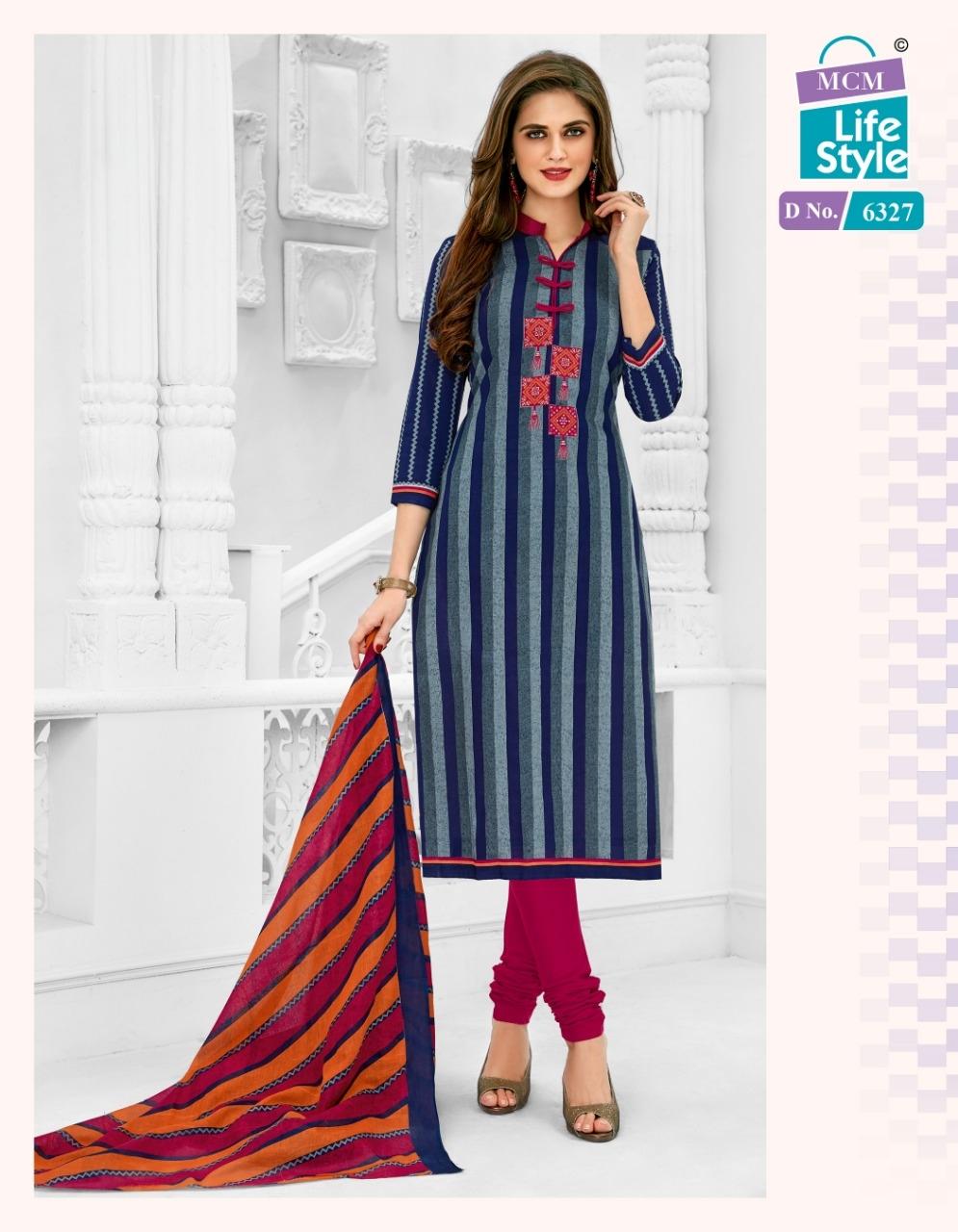 Mcm Advance Vol 17 Designer Cotton Daily Wear Suits In Best Wholesale Rate