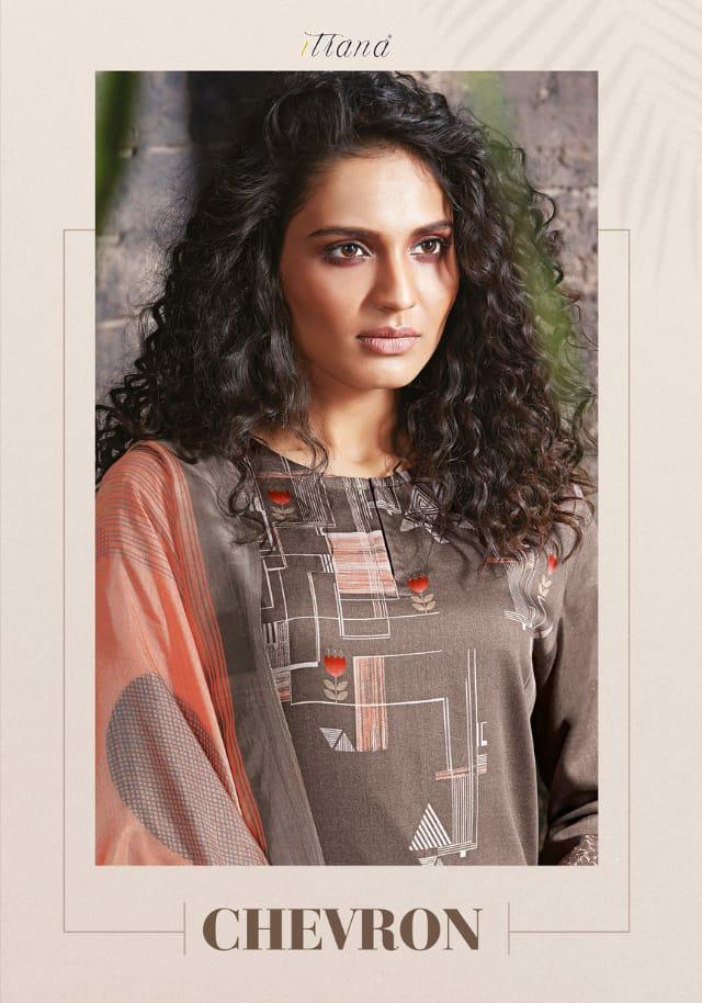 Sahiba Itrana Chevron Designer Printed & Pure Cotton Suits Wholesale