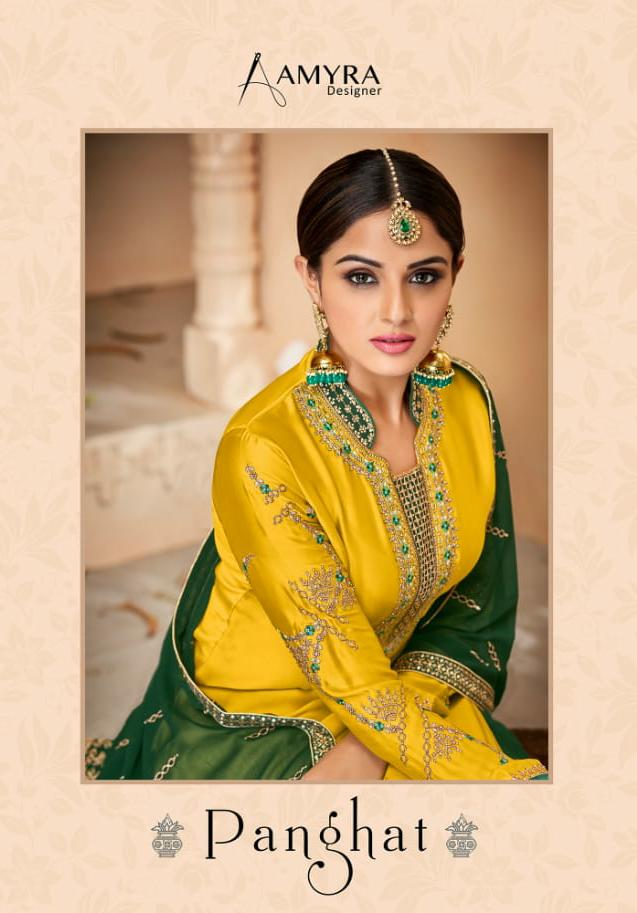 Amyra Panghat Designer Wedding Wear & Party Wear Suits In Best Wholesale Rate