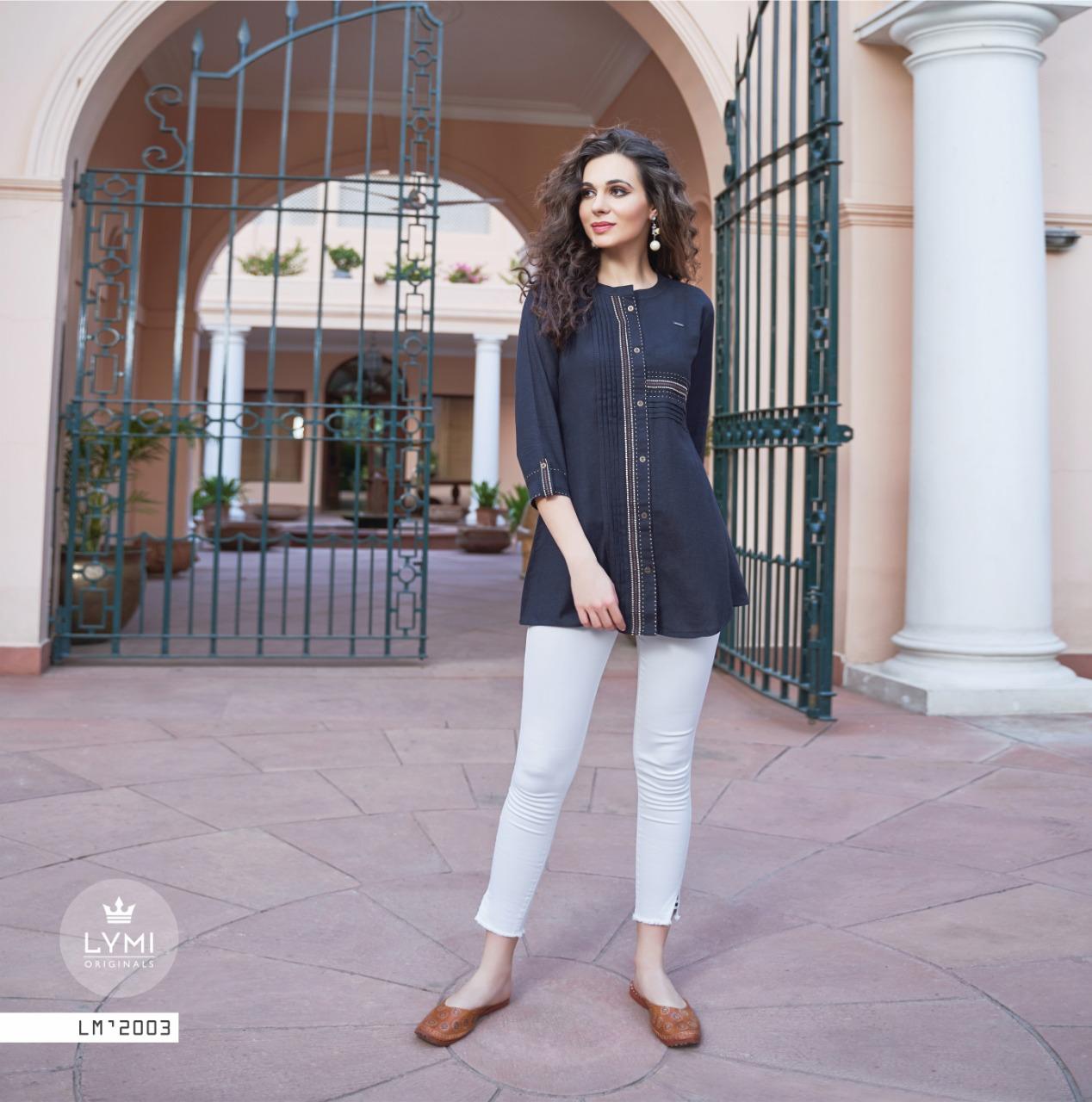 Kessi Lymi Ramp Vol 2 Designer Office Wear Stylish Tops Wholesale