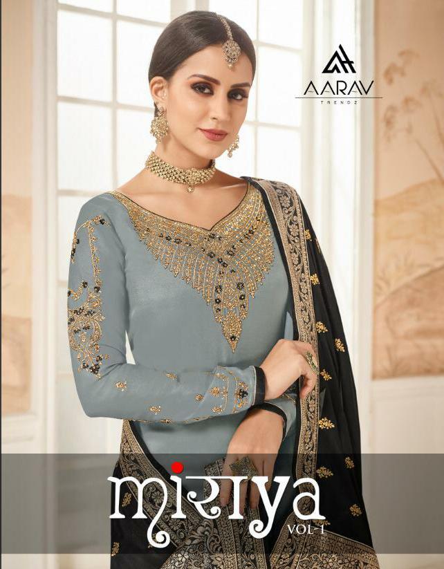 Aarav Trendz Miraya Vol 1 Designer Party Wear & Wedding Wear Suits Wholesale