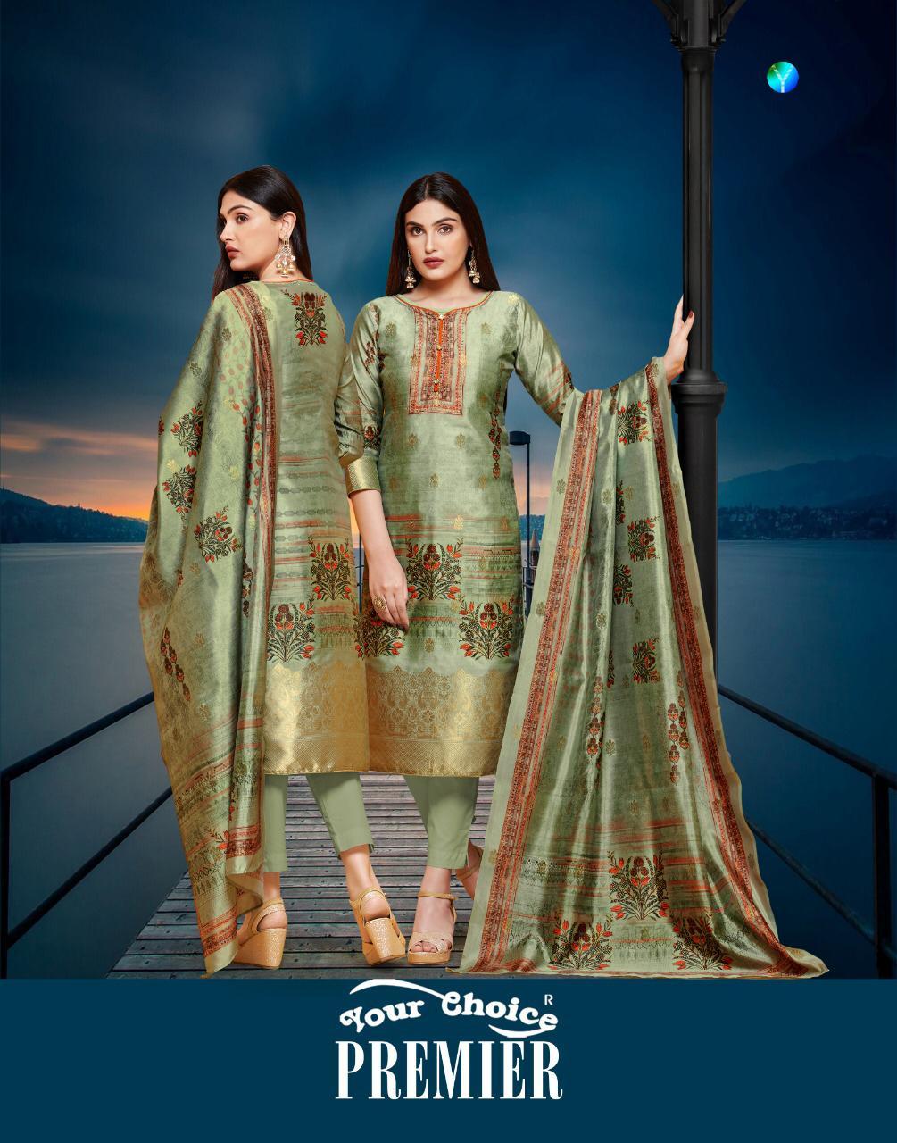 Your Choice Premier Designer Silk Printed Suits Wholesale
