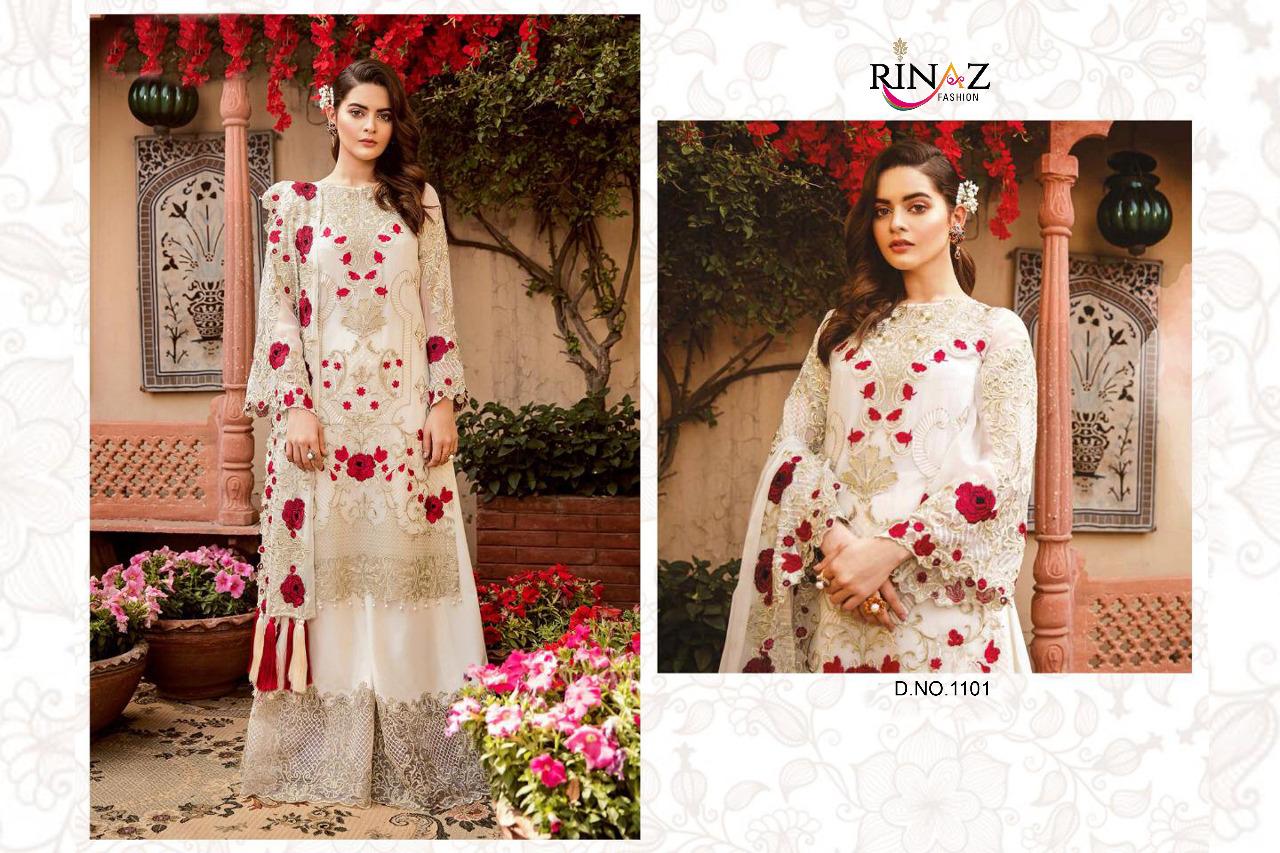 Rinaz Fashion Imrozia Hits Designer Party Wear Heavy Suits Wholesale