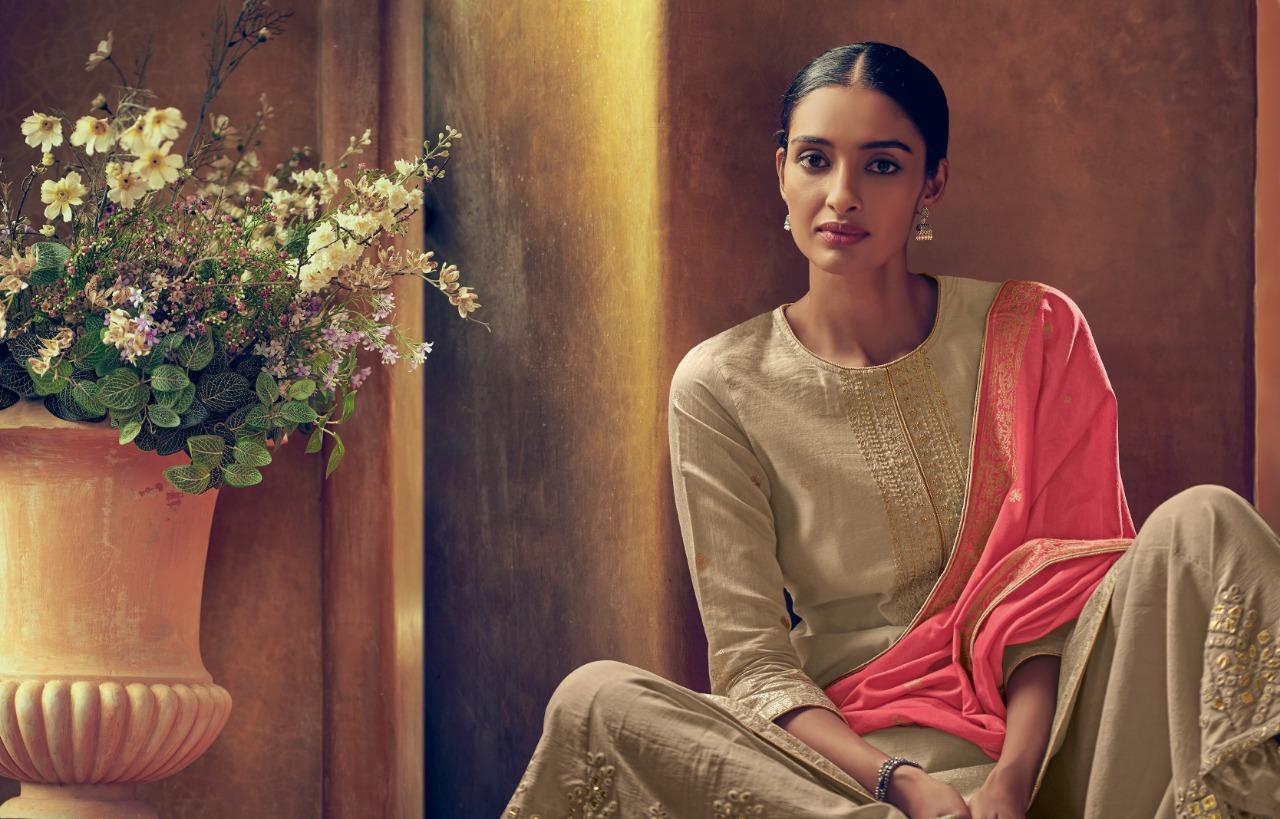 Varsha Fashion Siyahi Vol 2 Designer Embroidery & Banarasi Foil Printed Suits Wholesale