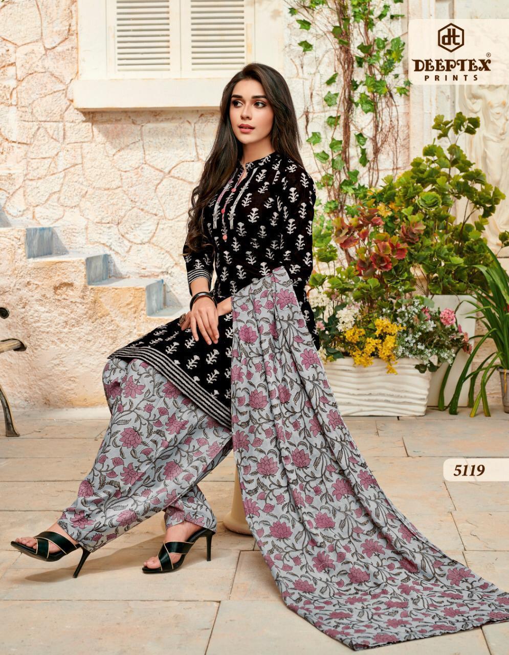 Deeptex Miss India Vol 51 Designer Cotton Daily Wear Suits Wholesale