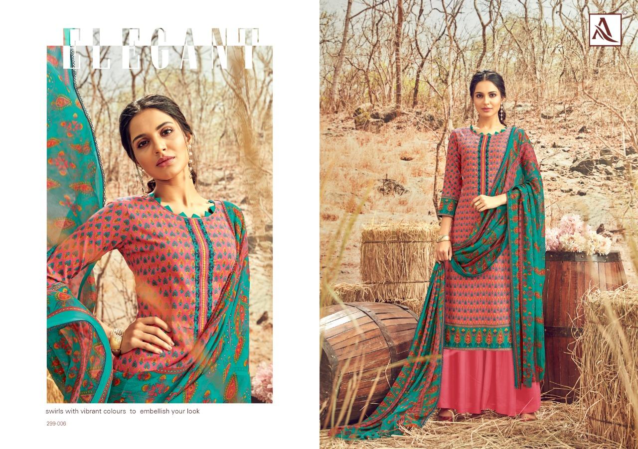 Alok Suit Avani Designer Fancy Work & Jam Cotton Printed Suits Wholesale