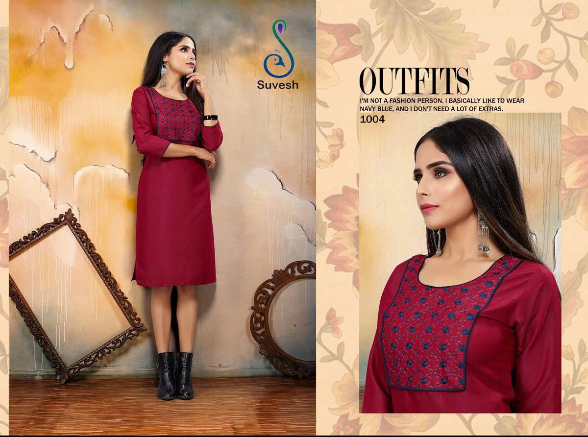 Suvesh Niyati Vol 2 Designer Office Wear Kurties Wholesale