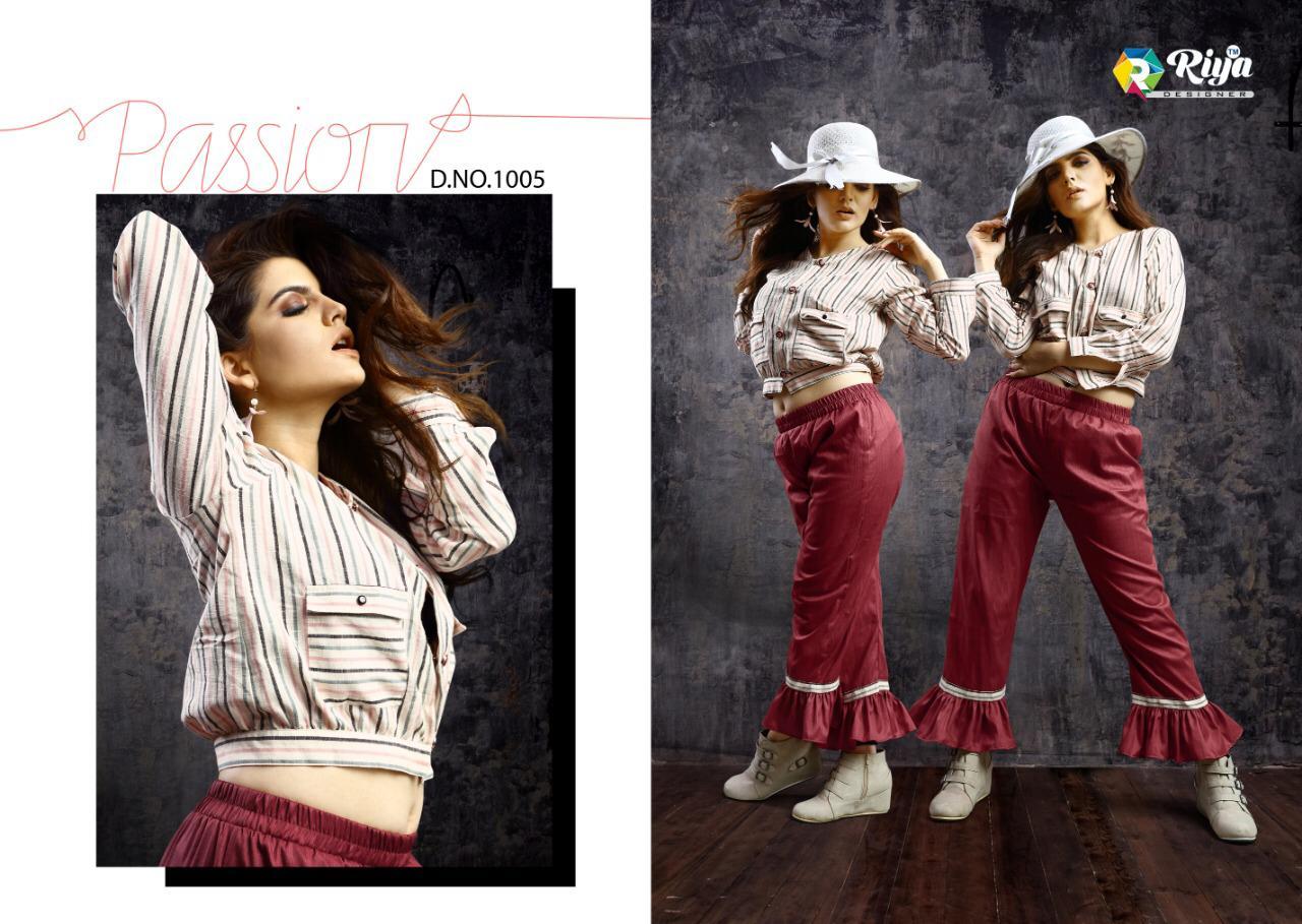 Riya Designer Western Vol 1 Designer Western Cotton Tops Wholesale