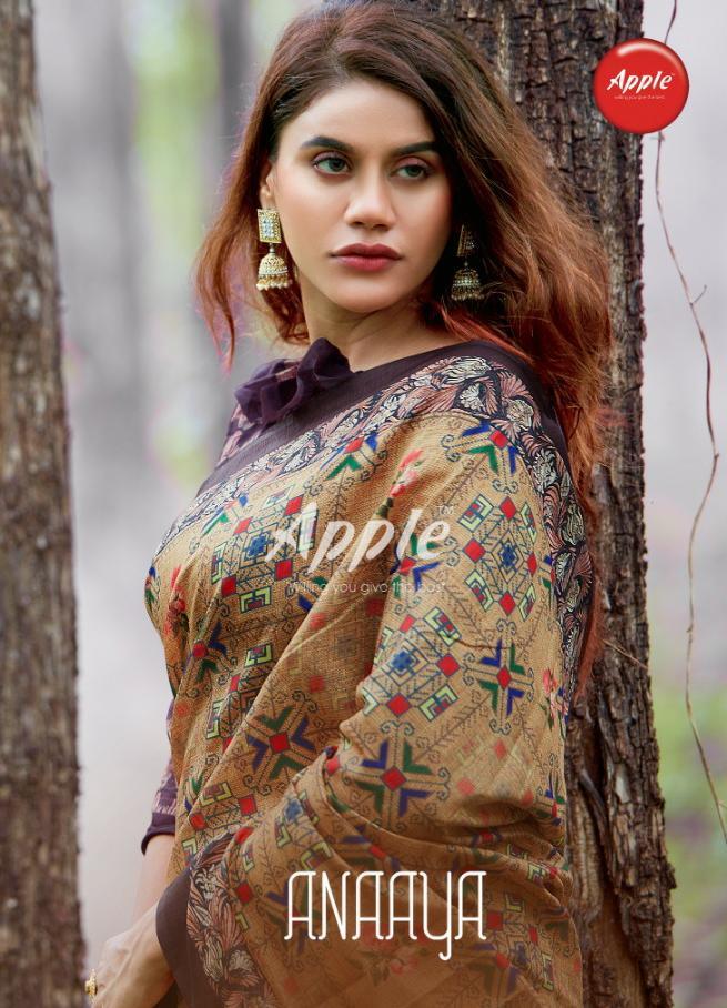 Apple Saree Anaaya Designer Cotton Silk Sarees Wholesale