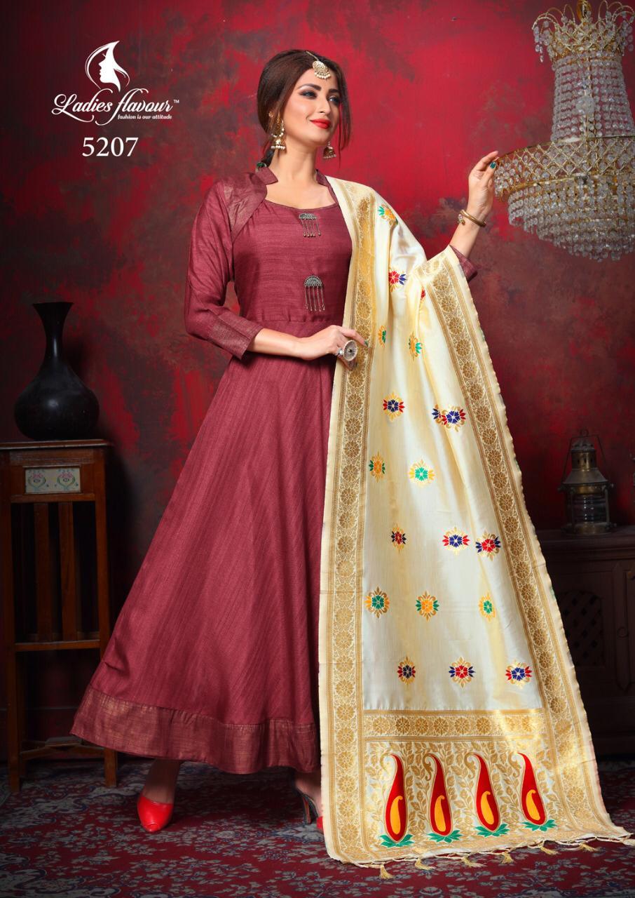 Ladies Flavour Manikarnika Vol 2 Designer Wedding Wear & Partywear Kurties Wholesale